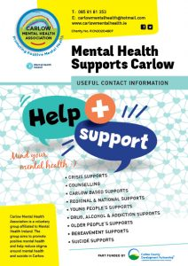 Mental Health Supports Carlow booklet