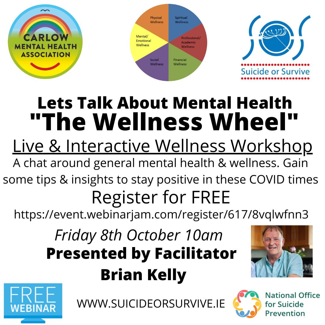 Wellness Wheel webinar with Brian Kelly